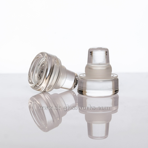 Glass Cap T-cork Bottle Stopper Suitable for Bartop/ Cork Top
