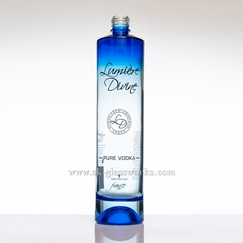 750ml Color Coating Vodka Bottle